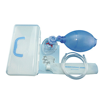 康勃(Compower) 简易呼吸器 C-2# 硅胶 小儿 套装  (1套)