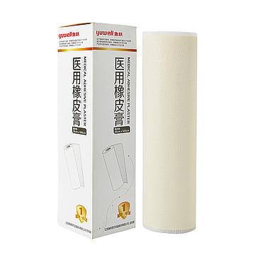 鱼跃yuwell 医用橡皮膏 纱衬垫 26×500cm(1卷/盒,25盒/箱)