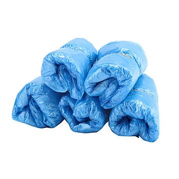 振德 一次性使用鞋套18cm×40cm 浅蓝纺粘机制 (100只/袋 1000只/箱)