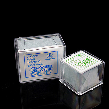 新康XK 盖玻片 22×22(100片/盒 500盒/箱)