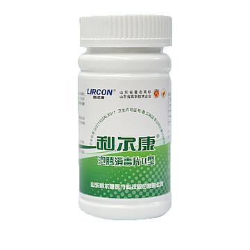 LIRCON利尔康 泡腾片Ⅱ型(100片/瓶 100瓶/箱)
