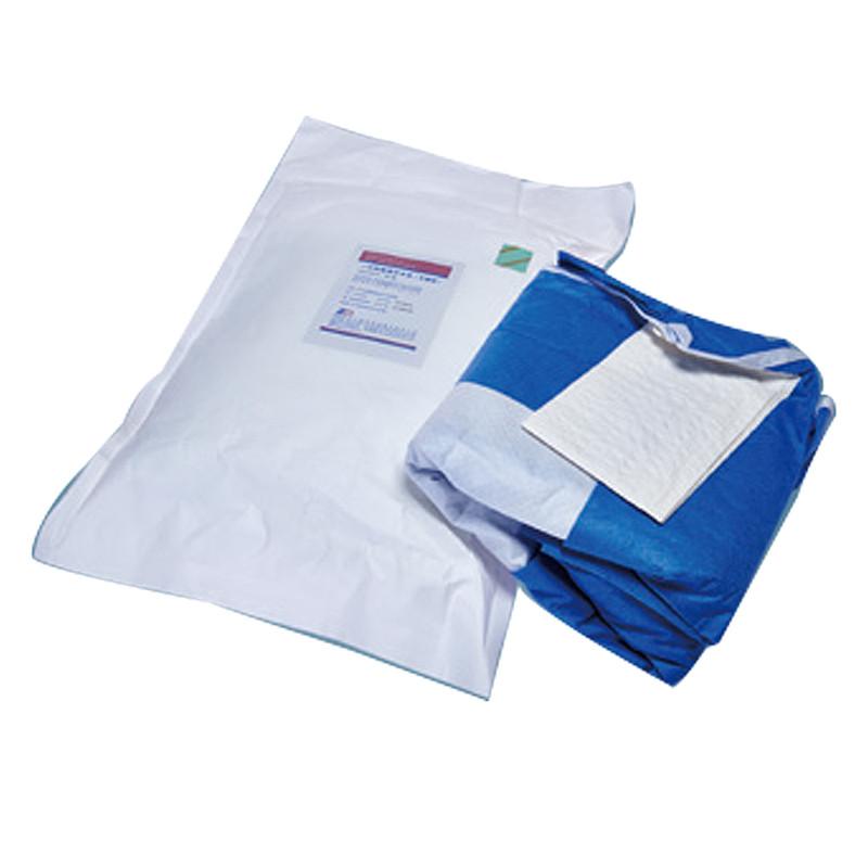 ZD振德 一次性使用手术衣 普通型120*140cm  35g 无擦手纸有插手袋 管袋 (1件/袋) M212351201400111K-3