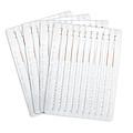 华佗Hwato 一次性使用无菌针灸针 0.25*60mm 透析纸铜柄 (100支/盒)