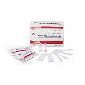 英科新创Intec 丙型肝炎病毒抗体检测试剂盒 卡型:40T/盒