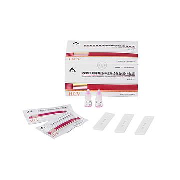 英科新创Intec 丙型肝炎病毒抗体检测试剂盒条式(胶体金法) 条式50T/盒