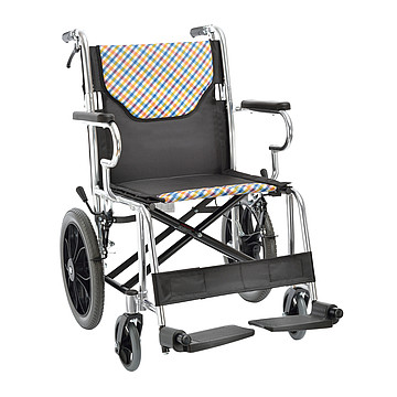 鱼跃yuwell 手动轮椅车 铝合金H032C