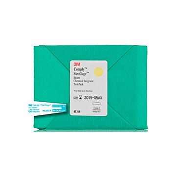 3M 蒸汽灭菌化学测试包 41360 (16只/盒)