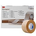 3M 透气胶贴 2.5cmX9.1m 1533-1 (12卷/盒 10盒/箱)