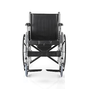 鱼跃yuwell 手动轮椅车 钢质H005B(充气胎)