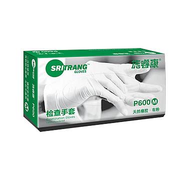施睿康 检查手套 乳胶 有粉 中号(100只/盒 10盒/箱)