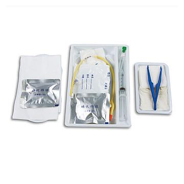 伟康 一次性使用导尿包 硅胶 双腔 F16(50个/箱)