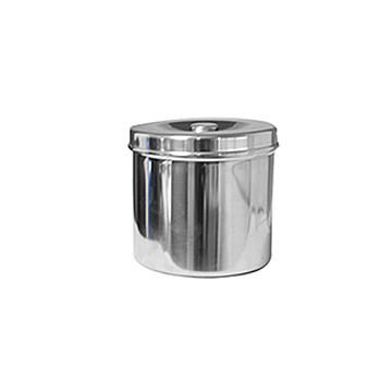 金钟 不锈钢纱布罐 R0D050(φ120×120)