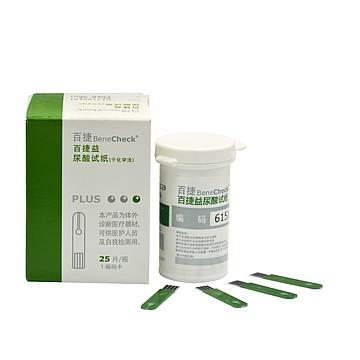 百捷 尿酸试纸 (25片)