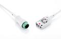 迈瑞Mindray 12针3导小儿/新生儿 心电主电缆组件 IEC/AHA除颤型