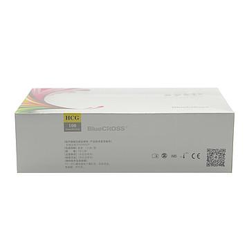 蓝十字 人绒毛膜促性腺激素(HCG)检测试剂(胶体金法) 100人份/盒