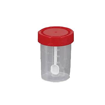 新康 大便杯 螺旋盖60ml (100只/袋,10袋/箱)