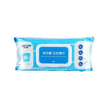 利尔康 医用卫生湿巾 80片/包,24包/件