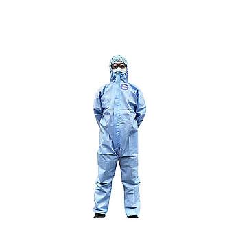 振德  一次性使用隔离衣 非灭菌 L码 蓝色(50件/箱)