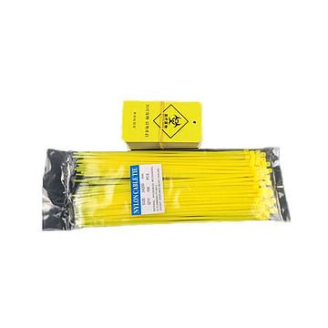 利鑫源(LIXINYUAN) 垃圾袋扎带 含吊牌 (100条/包)