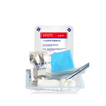 ZD振德 一次性使用无菌换药包 A-14 EO灭菌 条形码(120包/箱)