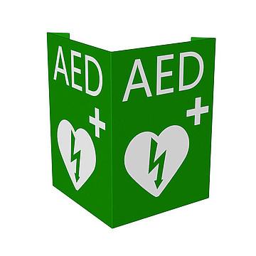 AED标识牌 (适配 迈瑞Mindray 除颤监护仪D1)