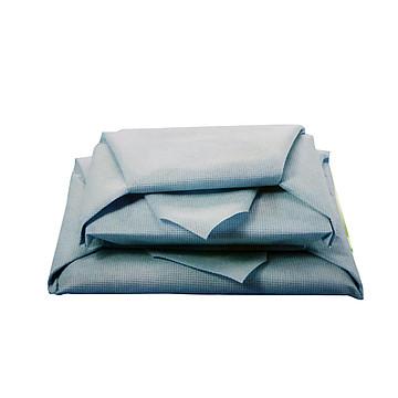 振德 医用包布 120×120cm 50g/m² 蓝绿双色 无纺布(200片/箱)