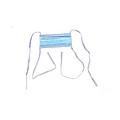 亚达YADA 一次性 普通医用口罩 系带 (4000只/箱)