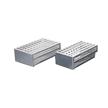 新康 Φ19铝制试管架 50孔(34只/箱)