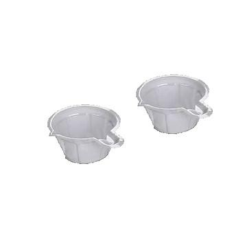 新康 一次性尿杯(白色、透明)40ml PVC(1000只/袋×10袋)