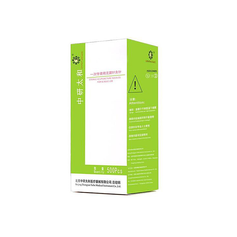 中研太和 一次性使用针灸针 0.4*25mm 盒装(500支)