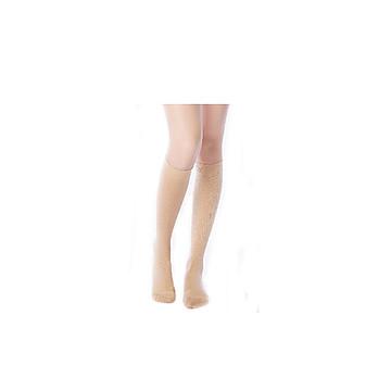 振德 治疗型静脉曲张袜 压力一级 短筒闭口/中号/肤色(12双/箱)