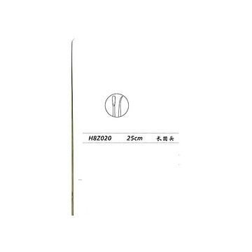 金钟 显微喉剥离器 H8Z020( 25cm长圆头)