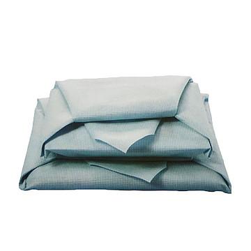 振德 医用包布 80cm×80cm  45g/m² 蓝色单抗无纺布(400片/箱)