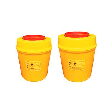 利鑫源 圆形利器盒  6L(80个/件)