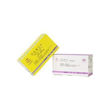 金环Jinhuan 带线缝合针 6-0 75cm 黑色 角1/2 4x12 单 19mm(12包/盒)