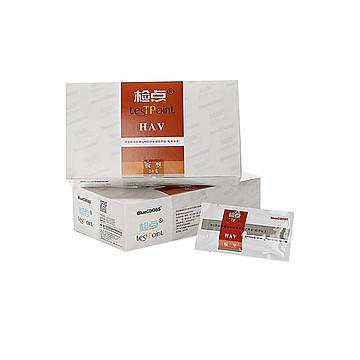 蓝十字 甲型肝炎病毒IgM抗体检测试剂盒(胶体金法) 板型:20T
