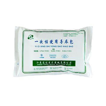 苏美 一次性使用导尿包 硅胶双腔 Fr16# (1包)