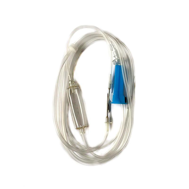 康叶达 一次性使用输液器 带针 0.64×23 SBTW 袋装 (25支)