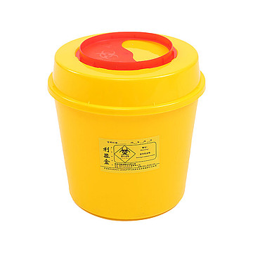 利鑫源 圆形利器盒 5L(100个/箱)