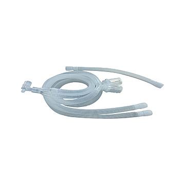 HUAKUN华坤 麻醉机和呼吸机用呼吸管路成人直管1.2M(50套/件)