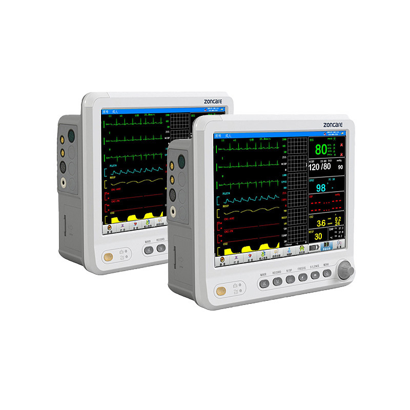 中旗多参数监护仪PM-7000C(标配+三通道记录仪模块)
