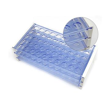 新康XK 塑料试管架 脱卸组合式 Φ16×50孔(100只/箱)