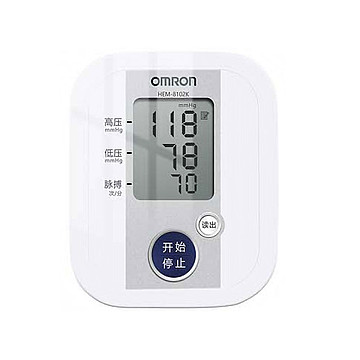 欧姆龙OMRON 电子血压计 HEM-8102K