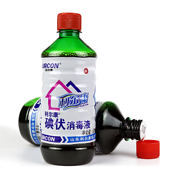 LIRCON利尔康 碘伏消毒液 500ml (30瓶/箱)