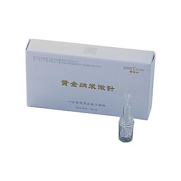 诗洛夕 黄金纳米微针 DCZ-4F-B(中针)1枚/盒