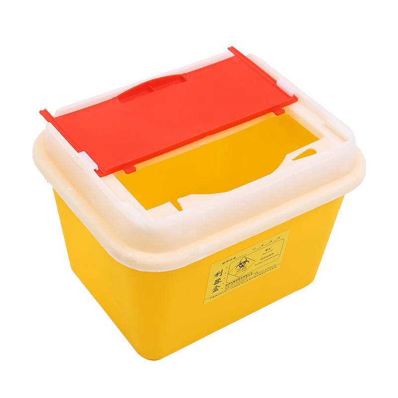 利鑫源 方形利器盒 5L  方形 (1个)