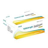 中检安泰ANTAI 弓形虫、风疹病毒、巨细胞病毒、单纯疱疹病毒II型四项IgM抗体联合检测试剂盒 TORCH-IgM  20T/盒 (1盒)