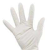 恒生 一次性使用橡胶检查手套 灭菌型S 有粉 (1双/袋 1000双/箱)