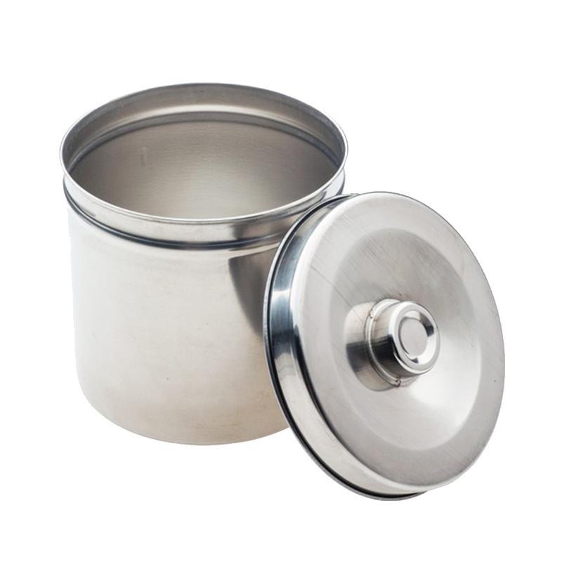 SHINVA新华 不锈钢纱布桶 Ф140 (1个) ZS351R