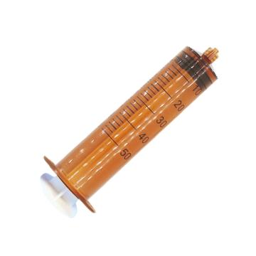 洪达HD 避光配药注射器 50ml 全塑 1.6mm侧孔 避光配药型 (100支/包)